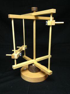 Hokett Mini Warping Reel~~ This has made warping my rigid heddle loom SO much easier!