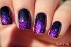 Enamels Kelly: Gradient Velvet Ana Hickman and Phoenix EDK