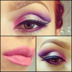 Valentines day makeup from last night! ❤❤ - @burrrita- #webstagram