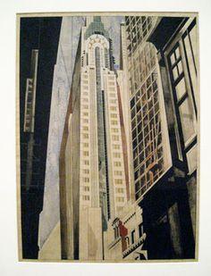 Edward Hopper (1882–Earle Horter (1881–1940) The Chrysler Building Under Construction, 1931