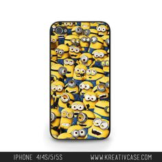 iPhone 5 case - Despicable Me, Minions Phone Case - G070