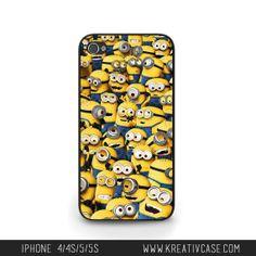 iPhone 5 case - Despicable Me, Minions Phone Case - G070