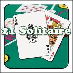 Brand new game for Android.  21 Solitaire Game.  Score as high as you can. Solitaire Games, I Am Game, Playing Cards, 21st, News Games, Action, App Store, Google Play, Apps