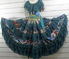 vestido de cigana simples - Pesquisa Google