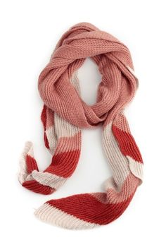 Candy Knitted Scarf