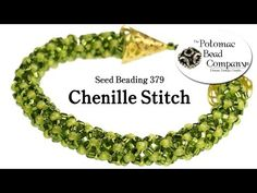 How to Make Hollow or Tubular Peyote Stitch (Seed Beading 318) - YouTube