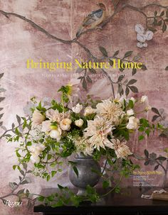 The cover of Bringing Nature Home.  The colors are so muted and beautiful.