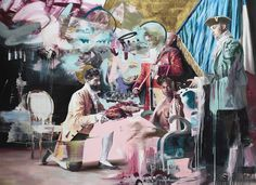 Conor Harrington, Three Wise Men (completed 2012), image © the artist and Lazarides. Photography: Ian Cox