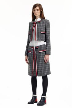 LOOK   2015 PRE-FALL COLLECTION   THOM BROWNE. NEW YORK   COLLECTION   WWD JAPAN.COM