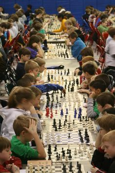 kid's chess tournament by ninahale, via Flickr