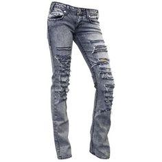 Denim Of Virtue Ripped Acid Wash Jeans Denimology