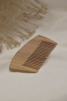 Wooden unique comb. For men for him. Beard comb by AwesomeEcoWorks