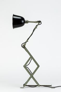 Curt Fischer, bauhaus lamp, late 1920s - early 1930s. Made for Walter Gropius Bauhauswerkstätte by Midgard, Auma.
