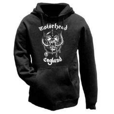 Motorhead Hooded Top: England