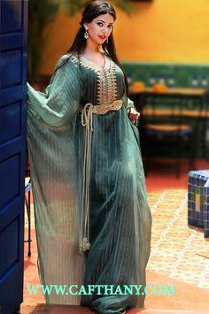 Une très jolie gandoura marocaine