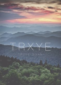 TRXYE Troye Sivan iPhone wallpaper via Tumblr