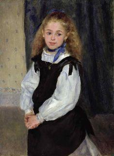Portrait of Mademoiselle Legrand | Pierre-Auguste Renoir | oil painting