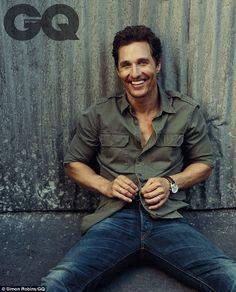 Matthew McConaughey reveals son Levi will save his Oscar in tsunami #dailymail