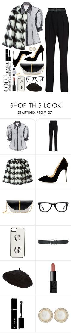 """""""01.02.16"""" by malenafashion27 ❤ liked on Polyvore featuring Chanel, Christopher Kane, Martin Grant, MICHAEL Michael Kors, Muse, Kate Spade, M&Co, Harrods, NARS Cosmetics and Givenchy"""