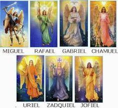 Los 7 arcangeles, sus colores, misiones y chakras