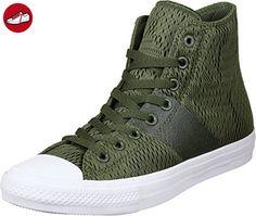 Converse Herren Ctas Ii Engineered Mesh Hi Lauflernschuhe Sneakers, Grün (Herbal/White/Gum), 43 EU - Converse schuhe (*Partner-Link)