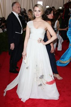 Dianna #Agron in Tory Burch #METBall2015