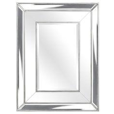 Silver Art Deco Mirrored Armoire Wardrobe For The Home