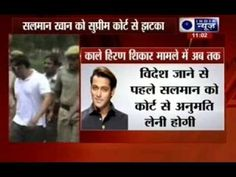 Salman Khan suffers a Supreme Court setback in blackbuck case