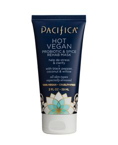 Pacifica Hot Vegan Probiotic & Spice Rehab Mask - Pacifica's Hot Vegan Probiotic & Spice Rehab Mask is a gel blend that goes on weightlessly. Beauty Box, Beauty Tips, Beauty Stuff, True Beauty, Skin Care Regimen, Skin Care Tips, Organic Skin Care, Natural Skin Care, Natural Beauty