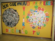 Earth Day Bulletin Board made of student traced hands and surrounded by student statements of advice to protect the earth. Peace Poster, Diy And Crafts, Crafts For Kids, Earth Day Crafts, Event Website, Save Our Earth, Environment Day, School Themes, Mothers Day Crafts