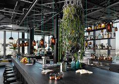 Un hôtel de luxe berlinois à la décoration zen et moderne