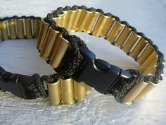 Paracord Bullet Shells Bracelet  With Clasp