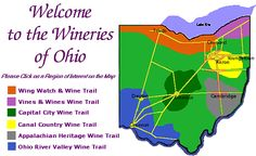 Ohio wines and wineries courtesy of the Ohio Wine Producers Association
