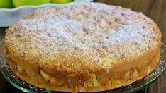 Sestra mi poradila recept na tento jablkovo kefírový koláč z hrnčeka- Skutočne ma prekvapilo, aký bol chutný - Recepty od babky Czech Recipes, Ethnic Recipes, American Apple Pie, Apple Pie Cake, Cake Recipes, Dessert Recipes, My Dessert, Apple Desserts, Round Cake Pans