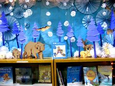Super adorable winter display!  Great for winter/Christmas!