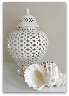 pierced jar..thinking i could paint my yellow one like this!!