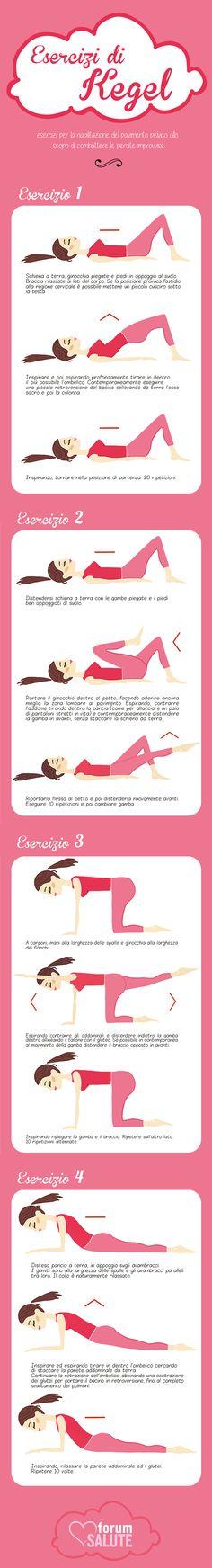 Esercitare i muscoli del pavimento pelvico è un modo efficace per minimizzare o prevenire le piccole perdite di urina sia nella donna sia nell'uomo.