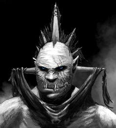 ( #fantasy #orc #fighter #warrior #chieftain #robber #bandit #thug #murderer #swashbuckler #men #character )