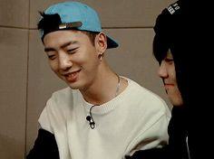 yongguk's smiles