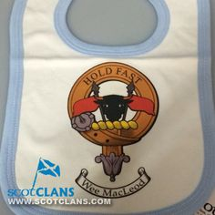 MacLeod Clan Crest Bib - Blue