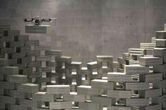 Flight Assembled Architecture by Gramazio & Kohler and Raffaello d'Andrea Machine Volante, Brick Architecture, Flying Architecture, Facility Management, Tower Building, Digital Fabrication, The Next Big Thing, Prefab, Design