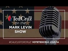 Ted Cruz Challenges Donald Trump to a One on One Debate on the Mark Levin Show - YouTube