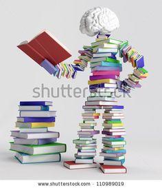 Man On The Open Book 스톡 사진, 이미지 및 사진   Shutterstock