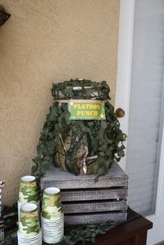 """Photo 1 of 27: Military / Birthday """"Army Party""""   Catch My Party"""