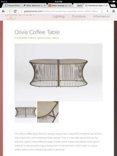 Limestone top coffee table / end tables, so versatile!