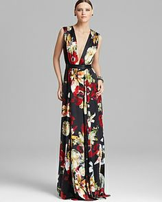 Absolutely loving this @AliveandOlivia floral silk maxi dress via @Bloomingdale's! #wishlist