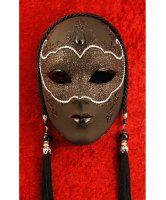 Maska wenecka - Black Panther