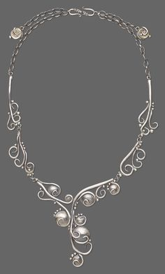 Jewelry Design - Single-Strand Necklace with PMC+™ (Precious Metal Clay) - Fire Mountain Gems and Beads