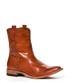 Love boots - long or short!! I could see putting miles on these Lucchese's Cassie Boots in Cognac.