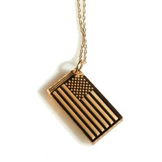 Flag Necklace now featured on Fab.